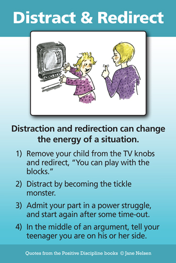 Distract and Redirect