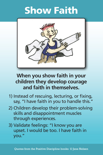 Show Faith in Children