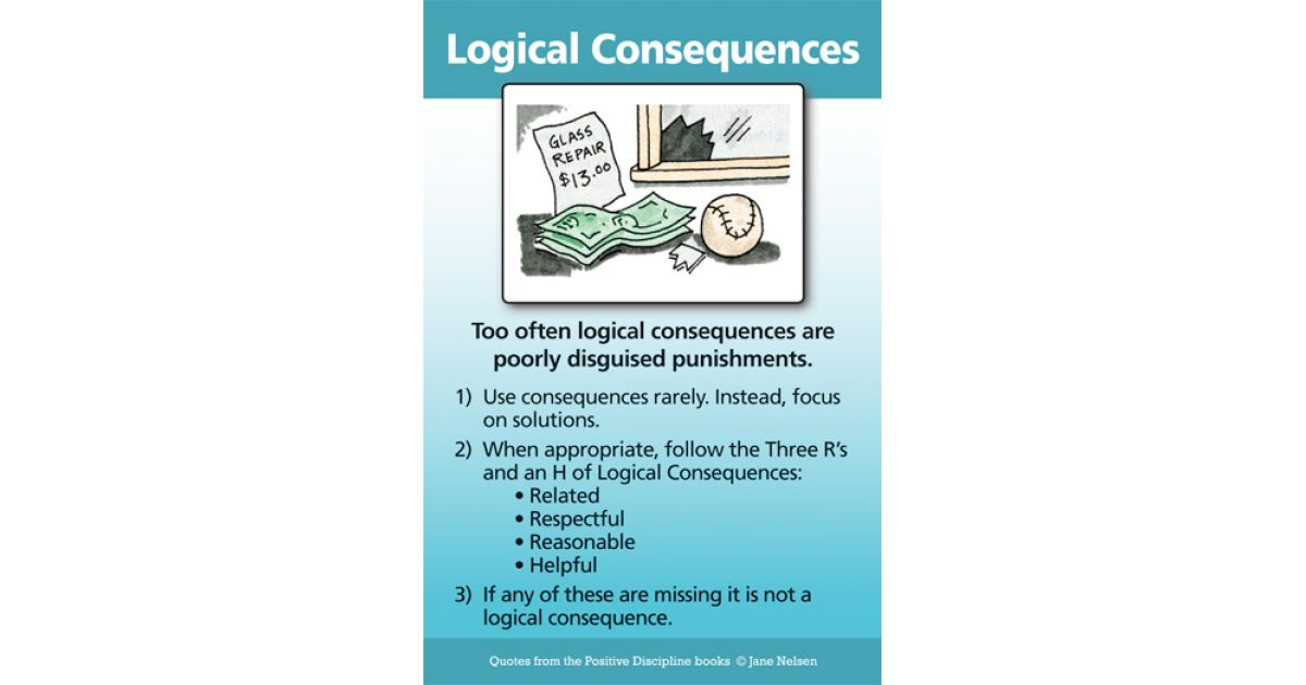 Logical Consequences Positive Discipline