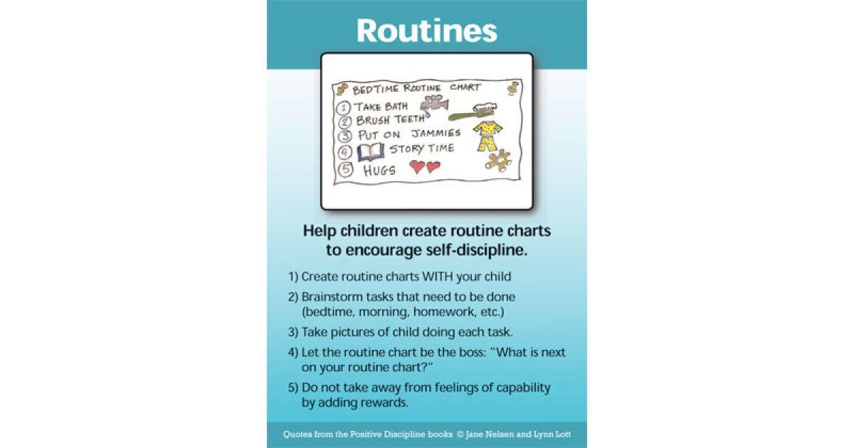 Positive Discipline Parenting Tool Cards Positive Discipline