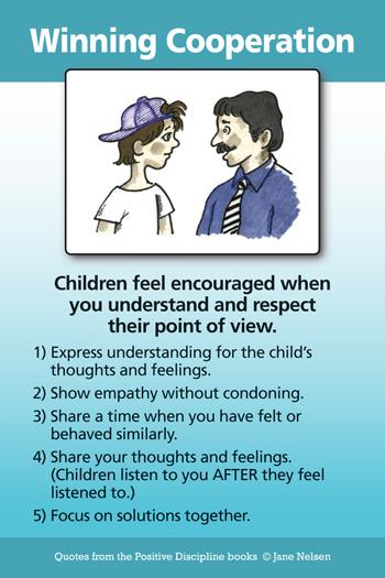 Winning Cooperation with Children